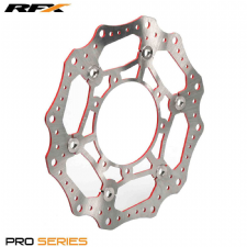 RFX Pro Floating Front Disc (Red) Honda CRF250/450 15-17